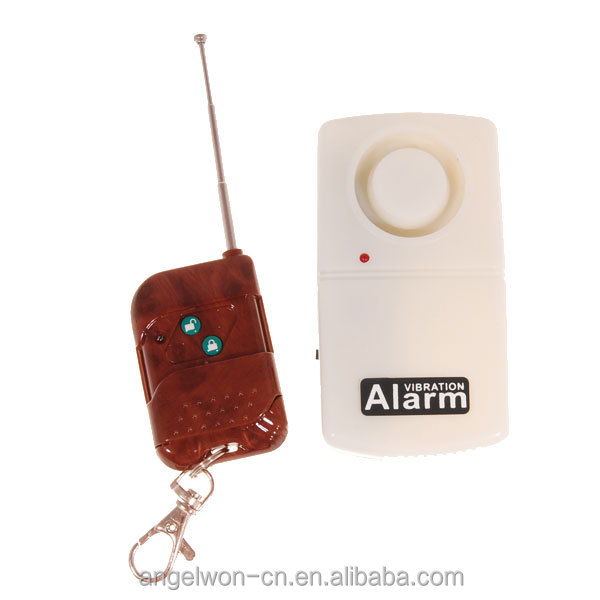 120db Remote door vibration sensor alarm burgular alarm wireless China house alarm
