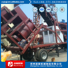 Professional design mobile precast concrete batching plant for sale