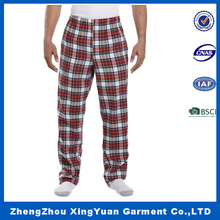 hot selling winter flannel pajamas sleeping pants couple pajamas pants with pockets