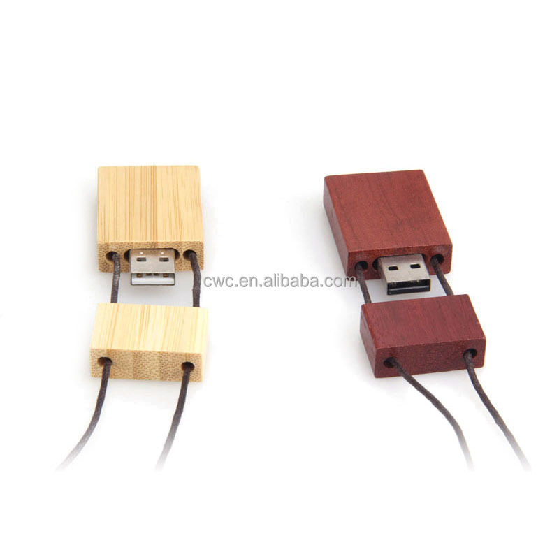 Novelty products wholesale wooden usb usb stick with ring