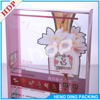 hot sale custom plastic box clear gift box