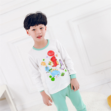 Children's Pajamas 2018 Baby Clothes Matching Shirts And Pants Pictures