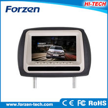 New panel 7 inch headrest high quality blue ray car dvd player with remote control