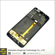 Original LCD Touch Screen Digitizer Assembly + Frame For Alcatel One Touch Idol Mini 6012