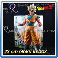 MINI QUTE 23 cm goku dragon ball z anime action figures models brinquedos boys gifts/toys for children NO.MQ 110