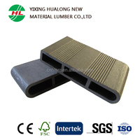 Good Price Wood Plastic Composite Outdoor Flooring WPC Decking for Landscape