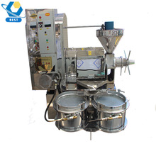 6YL-130 low noise farmer using multifuctional screw oil press for peanut