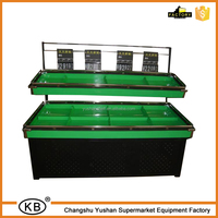 2 Tier Promotion Fruit And Vegetable Display Rack