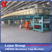 crepe paper tape and adhesive tape coating machine/ production line