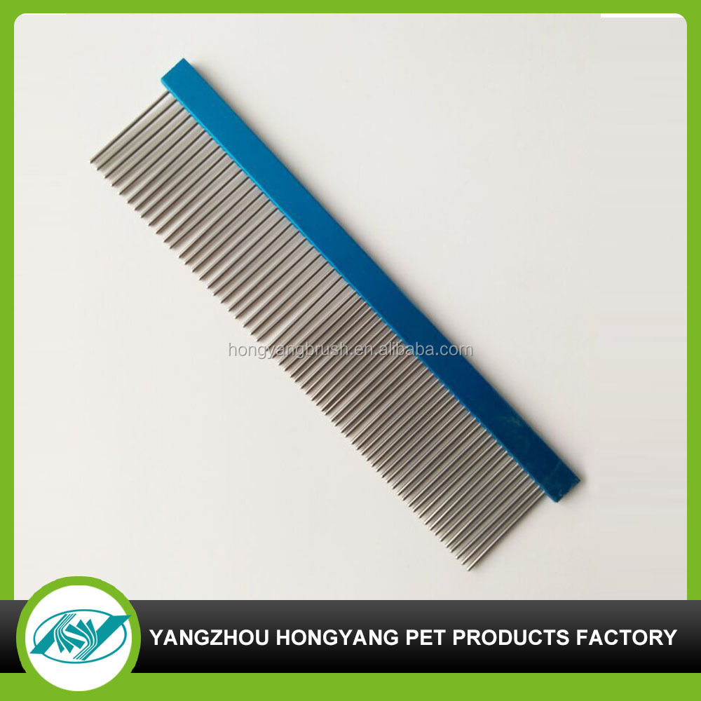 Dog hair cutting comb