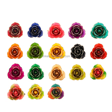 30cm Resin Crafts 24K Gold Foil Real Rose Creative home The Creative home decorative Flower
