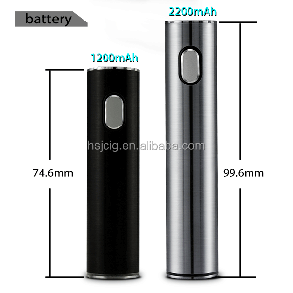 2016 Crazy selling!!! New product 19mm diameter fresh hsj UFO choice electric cigarette machine for china wholesale