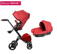 Douxbebe 2015 best selling high landscape and foldable baby pram 9color fashion stroller