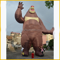 NB-CT1110 giant inflatable teddy bear oxford cloth china manufacturer