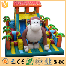 A New Generation Of Entertainment Inflatable Jungle Fun City/Inflatable Castle Fun City