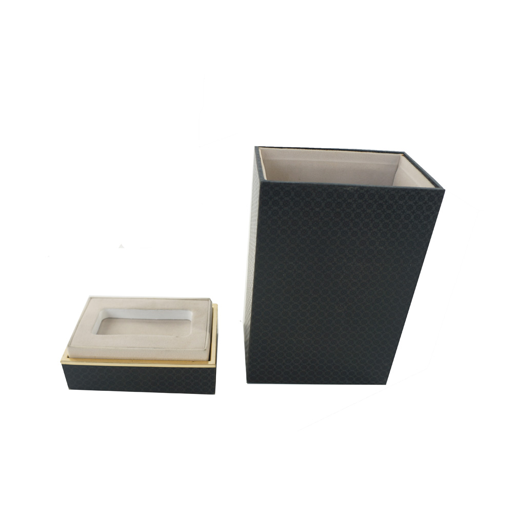 Custom Luxury Black Perfume Gift Box
