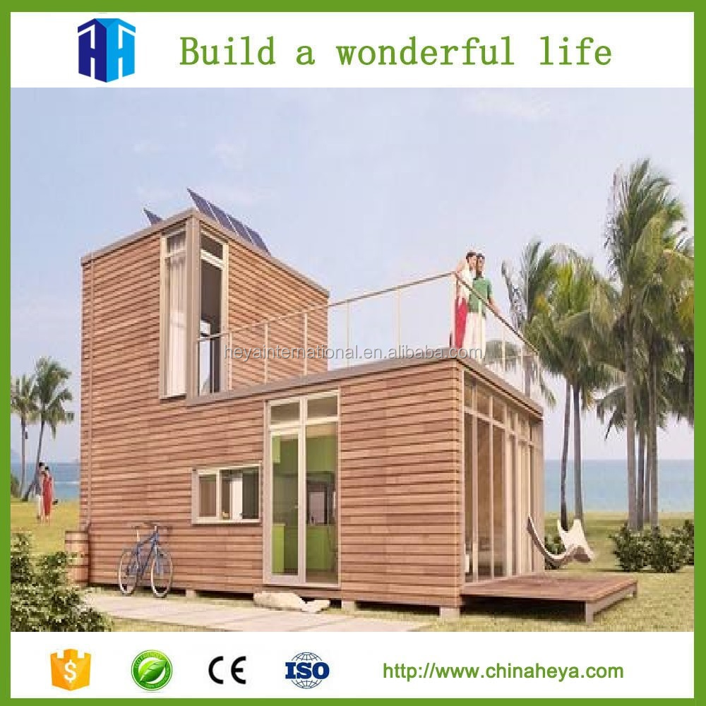 HEYA superior quality beach container fitted house prefab