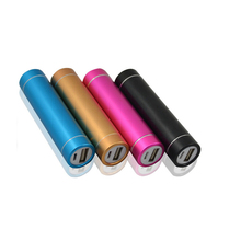 Customized logo mini colorful ultra silm best design perfume PowerBanks 2600mah portable Power Bank for mobile phone