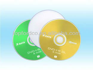For Xbox 360 Game Cheap Bulk Dual Layer DVDR 8.5GB 8X DL DVD+R