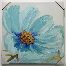China made decorative canvas flower oil painting