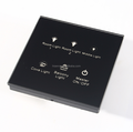 Customized 1-6 buttons Automation Home Touch Wall Switch