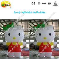 super selling giant advertising inflatable cartoon helo kitty model