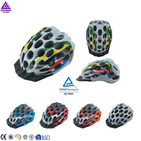 Lenwave brand high quality 41 air vents funny bicycle helmet