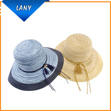 Wide Brim Women Bulk Straw Cowboy Hats Wholesale woman's hats
