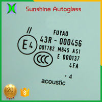 2017 New oem top glass for car windshield
