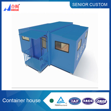 Earthquake Relief Foldable container,Extensible containers house with 2 bedroom , one bathroom