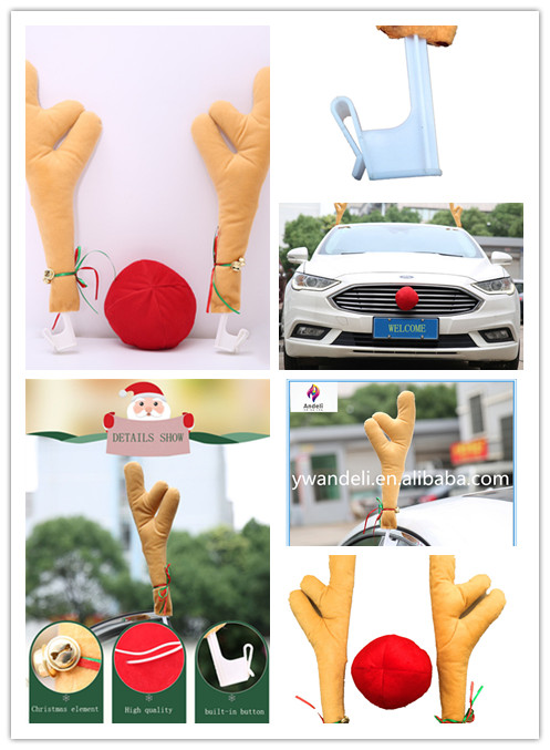 fashion and cheap christmas reindeer car antlers