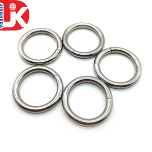 China supplier bag buckle stainless steel o ring metal