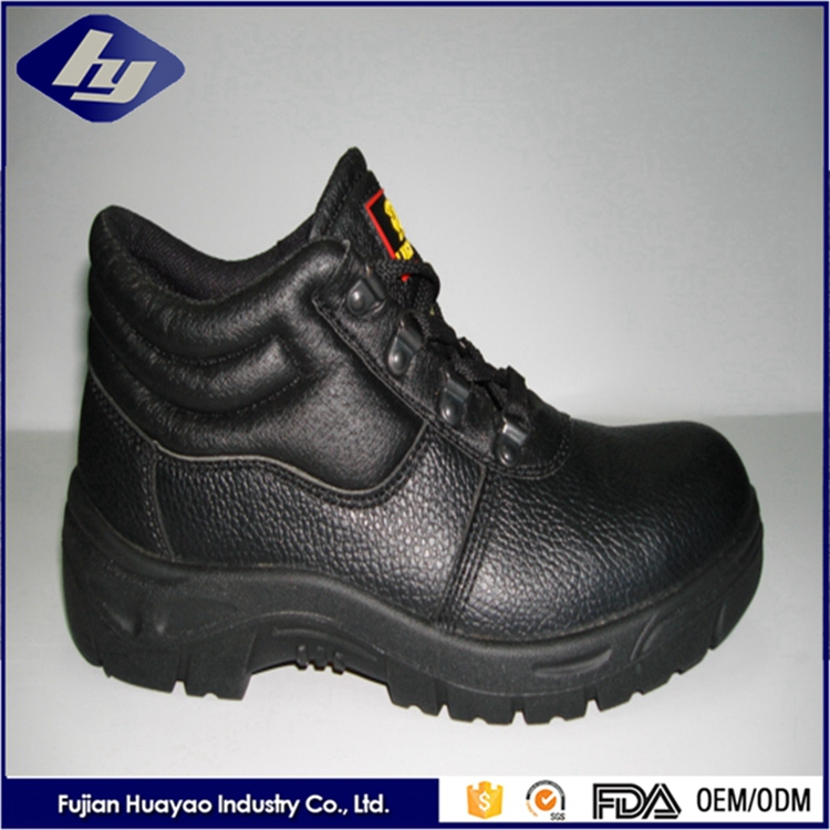 New Design Steel Toe Work Shoes Anti Slip Ladies High Heel Safety Shoes