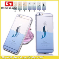 Cute Ultra Thin TPU Soft Cell Phone Case For Apple iPhone 6