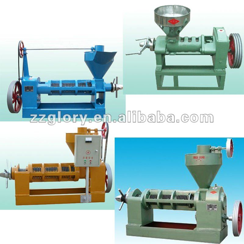 Oil machinery/ homemade oil press/ oil refinery