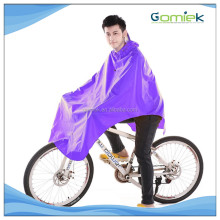 PVC raincoat Waterproof Reflective strips Bicycle Thick Raincoat