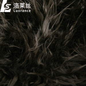 hot sale long pile stretch fur fabric