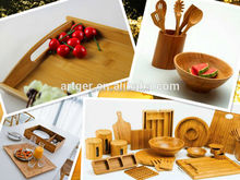 Cheap bamboo food tray with cover wholesale