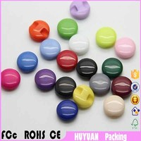Supply of plastic small side button candy color children's clothing buttons multi color optional