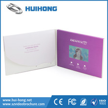 T-shirt printing machine 10 inch LCD screen promotional greeting video card for birthaday greeting