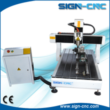 China 9060 mini cnc 3 axis 4 axis router machine