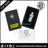 atomizer tank fog rider tank Rebuildable Deck design wholesale pricing, huge cloud, best flavor