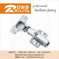Rliya screw hinge,bed box hinge,fitting kitchen door hinge