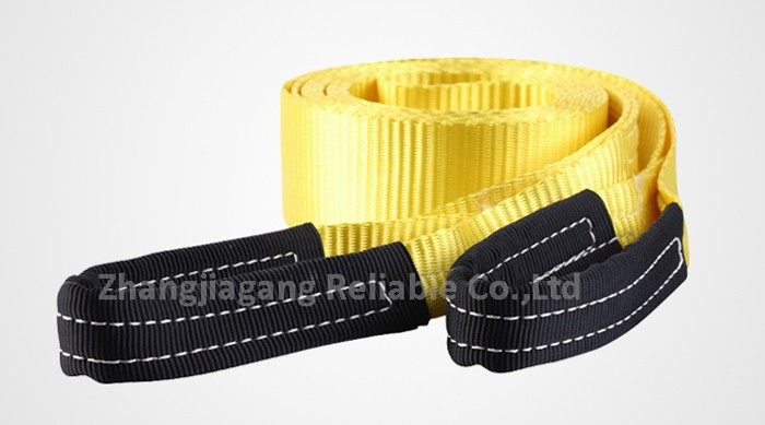 Polyester Multi Color Tow Loop Strap for Race Vehicle