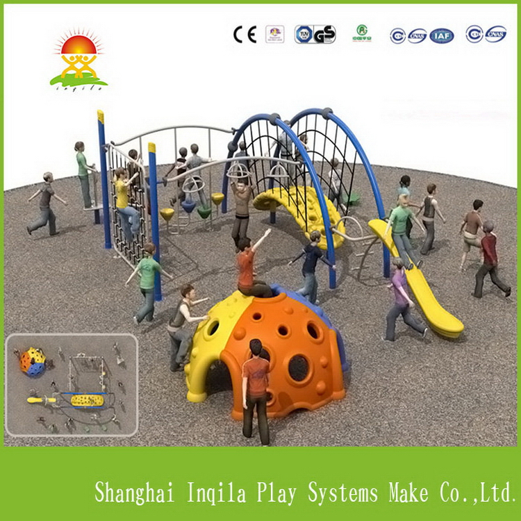 Customized kids outdoor palyground exercise equipment