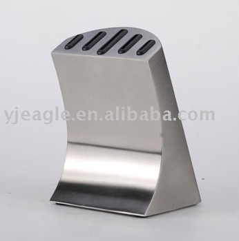 stainless steel knife block / kitchen knife block