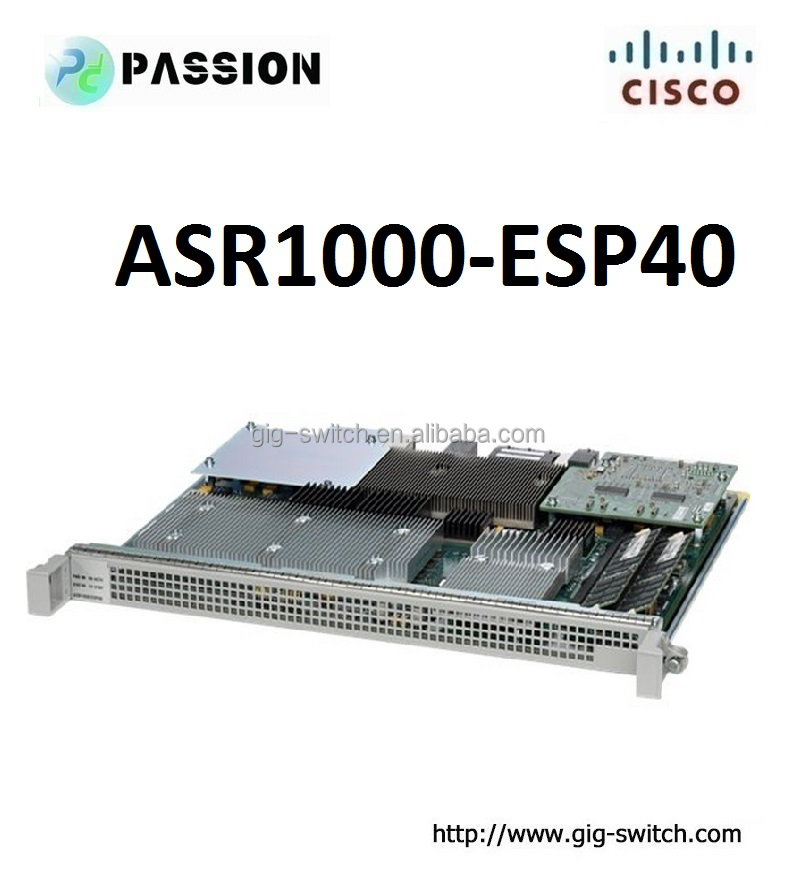 Cisco ASR1000 Embedded Services Processor 40G ASR1000-ESP40 router