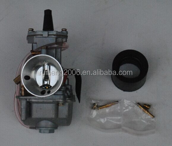 26mm carburetor PWK 2-stroke racing flat side the OEM OKO KOSO carb with power jet Motorcycle Carburetor