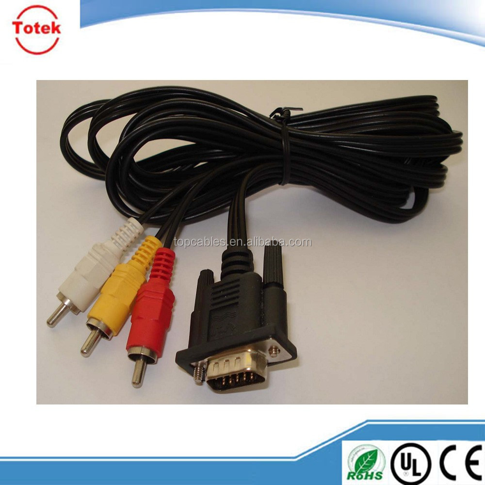 RCA / vga male to male RCA Cable