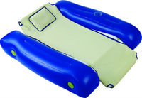 Floating Lounger Inflatable Float Water Raft Floating Recliner Lounge Swimming Pool Chair